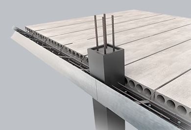 VERSA:T: EDGE BEAMWITH HOLLOWCORE PLANK